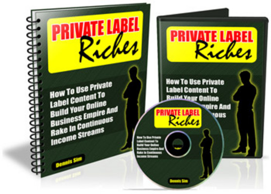 Product picture Online Marketing: Private Label Riches - Audio Course