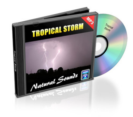 Product picture Natural Sounds: Tropical Storm - Royalty Free MP3
