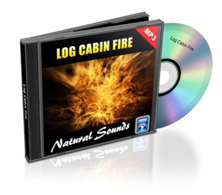 Product picture Natural Sounds: Log Cabin Fire - Royalty Free MP3