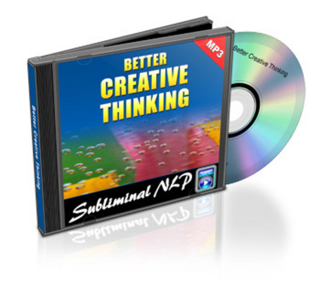 Product picture Subliminal Audio - Better Creative Thinking