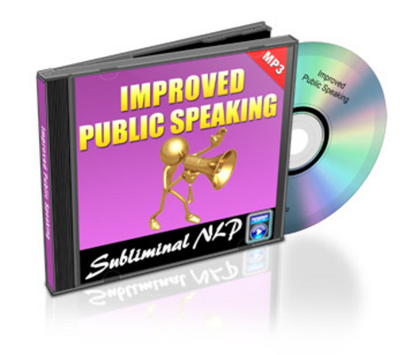 Product picture Subliminal Audio - Improved Public Speaking