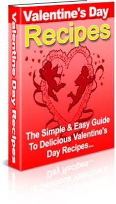 Product picture Delicious Valentines Day Recipes