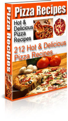 Product picture Hot & Delicious Homemade Pizza Recipes