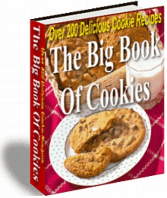 Product picture The Big Book of Cookies - Over 200 Delicious Cookie Recipes