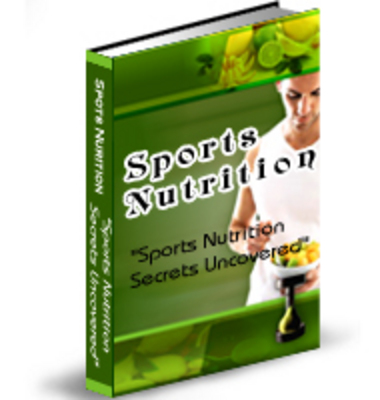 Product picture Sports Nutrition Secrets Uncovered