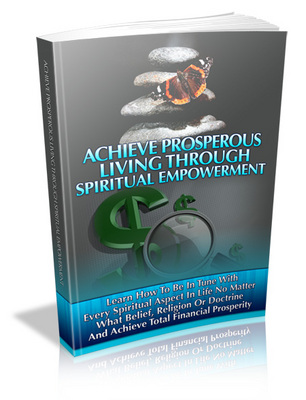 Product picture Achieve Prosperous Living Through Spiritual Empowerment