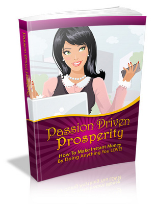Product picture Passion Driven Prosperity