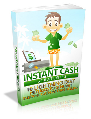 Product picture Instant Cash Strategies