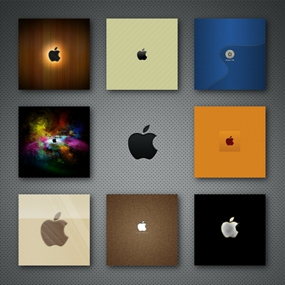 Product picture 101 Apple Logo Wallpapers for iPad