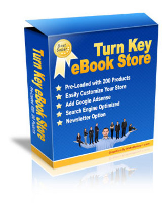 Product picture Brand New * Turnkey eBook Store with Resale Rights