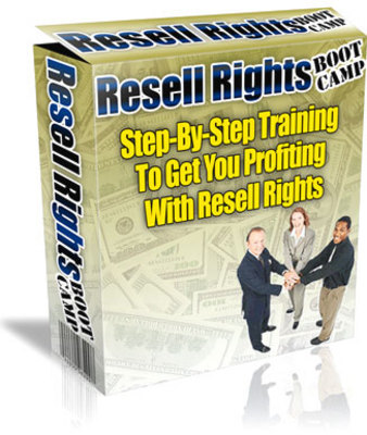 Product picture Resell Rights Boot Camp Videos with Master Resale Rights