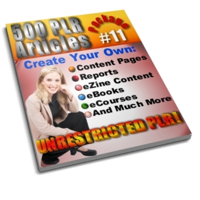 Product picture 500 Unrestricted PLR Articles Package 11