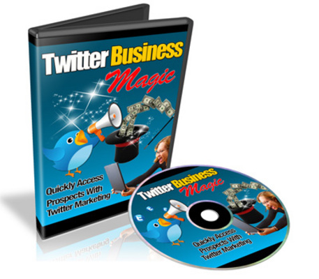 Product picture Twitter Business Magic Tutorial + Resale Rights