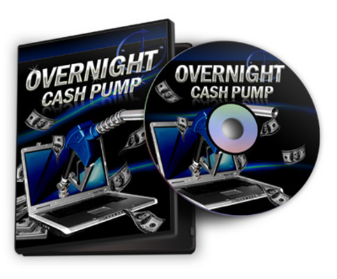 Product picture Overnight Cash Pump System + Resale Rights