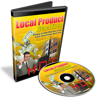 Product picture Local Product Machines Tutorial + Resale Rights