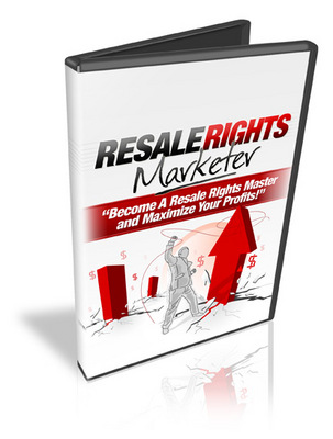 Product picture Resale Rights Marketer + Master Resale Rights