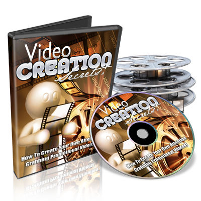 Product picture Video Creation Secrets Course + Master Resale Rights